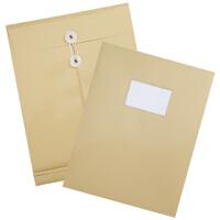 得力PP塑料袋5910 A4 PP材质 宽底 带标签