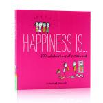 幸福是 Happiness Is 200 Celebrations of Sisterhood英文原版绘本 儿童版暖心