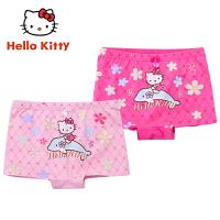 【到手价:39元】Hellokitty儿童内裤棉质女童学生中大童三角平角裤小女孩