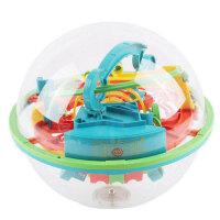 爱可优 3D立体迷宫球幻智力球挑战智力 儿童益智玩具球 创意玩具 100关923幻智