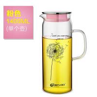 天喜(TIANXI)玻璃杯具套装 家用水杯子凉开水壶冷热水壶茶杯果汁壶