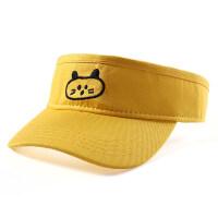 儿童帽子男潮遮阳帽夏男童女童鸭舌帽薄款宝宝空顶帽太阳帽防晒帽 帽围48-52cm 均码