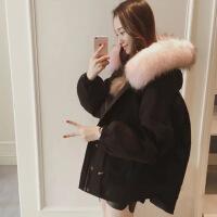 胖妹妹秋冬季心机外套女大码女装新款韩版胖mm爱200斤