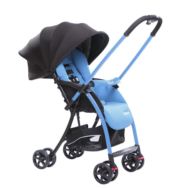 婴儿推车轻便 儿童推车婴儿车换向折叠避震宝宝伞车可坐可躺BB车