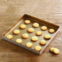 2019新款 正方形不沾烤盘披萨饼干曲奇瑞士卷家用模具烤箱用28cm