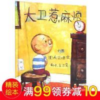 大卫惹麻烦 精装 大卫系列彩色绘本图画书 儿童启蒙学习认知读物 畅销少儿童话故事书籍 启发绘本