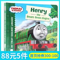 英文原版绘本 Thomas & Friends Henry the smart Green Engine 小火车托马斯