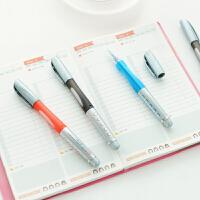 晨光文具 中性笔0.5mm大容量签字笔GP1530 办公中性笔 大白鲨