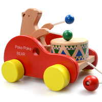 拖拉车 拖拉学步玩具拉车婴幼儿童手推车手拉绳拉线玩具车1-3岁宝宝玩具