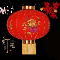 大红灯笼 春节新年室外装饰灯笼开业居家户外防水圆形喜庆挂件过年公司企业年会礼品