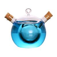 鸳鸯鸡尾酒杯 创意分享杯双管玻璃杯个性酒吧器皿挂式水杯饮料杯