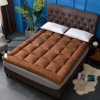 榻榻米羽绒棉床垫加厚10cm可折叠双人1.5m1.8m床褥子1.2m宿舍垫被定制
