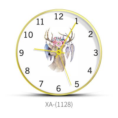 挂钟客厅个性创意时尚大气时钟家用北欧卧室现代简约艺术静音钟表