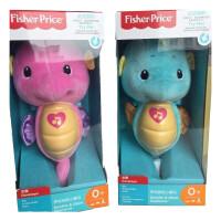 玩具开学季费雪(Fisher-Price)新生安抚玩具 新版声光安抚海马-粉色 GCK80