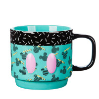 米奇生日季系列纪念款米奇12月纪念款陶瓷马克喝水杯 中