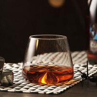 旋涡威士忌杯 无铅水晶玻璃 手工杯烈酒杯红酒杯洋酒杯酒吧品酒杯