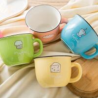 大肚杯子女陶瓷小容量早餐牛奶咖啡杯可微波炉水杯马克杯