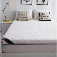 榻榻米床垫1.8m床双人针织床褥折叠垫褥子1.5m米学生宿舍海绵加厚定制