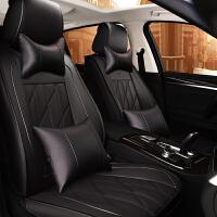 汽车座套全包围坐垫四季通用朗逸风尚版朗动帝豪gs夏季坐套座垫
