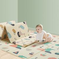 babycare宝宝爬行垫折叠加厚xpe儿童地垫家用客厅爬爬垫【WJ】