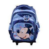 迪士尼 米奇拉杆包可拆卸学生书包M0413多色