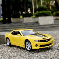 变形金刚大黄蜂汽车模型 合金1:18雪佛兰科迈罗仿真车模