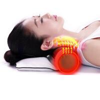 颈椎枕头修复大粒粗盐艾草热敷电加热疗定时海盐枕头定制