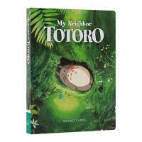 宫崎骏 龙猫明信片30张 英文原版 My Neighbor Totoro: 30 Postcards 宫崎骏电影周边礼品