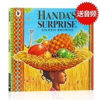 进口英文原版绘本 Handa's Surprise 汉娜的惊喜 廖彩杏书单15 吴敏兰书单