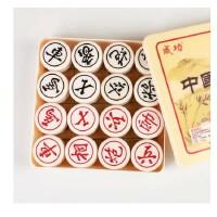 好吉森鹤/北京线上50元包邮/象棋工艺树脂中国象棋 塑料盒装 象棋 棋子直径61MM左右大号(麻将料棋子光滑耐用)/中国象棋-------1套+搭送品8504