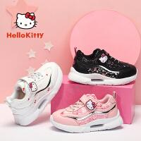 【4折价:99.6元】HelloKitty童鞋 女童运动鞋 女孩防滑透气跑步鞋K0513859