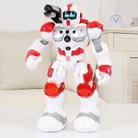 智能机器人新威尔机械战警机器人智能警察玩具可编程对战会跳舞太空儿童遥控 官方标配
