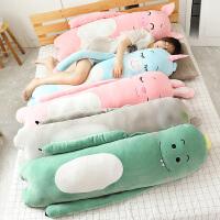 抱抱毛�q玩具睡�X抱枕公仔可�鄢��床上女生拆洗�L�l枕玩偶布娃娃
