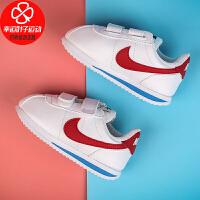Nike/耐克童鞋新款低帮运动鞋魔术贴跑步鞋舒适轻便防滑耐磨休闲鞋904769-103