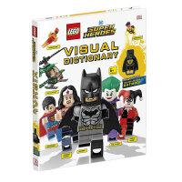 【正版包邮】LEGO DC Super Heroes Visual Dictionary 乐高DC 超级英雄视觉词典 黄色灯笼蝙蝠侠 英文原版进口 儿童趣味认知书3-6-10岁