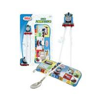 托马斯3D火车头造型学习筷三件套防滑儿童专用练习筷子餐具套装男孩儿童宝宝玩具