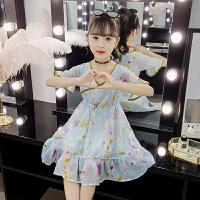 2019夏季新款儿童装裙子女孩洋气公主裙女童夏装雪纺连衣裙