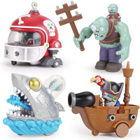 玩具机甲橄榄球大疆尸儿童玩具巨人僵尸海盗船长