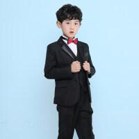 男童西装套装韩版儿童西装套装花童礼服男钢琴演出服中大童男童小西服外套英伦MYZQ60