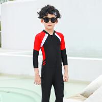 男童中大童加大码女孩夏季游泳装新款儿童泳衣男孩女孩兄妹装