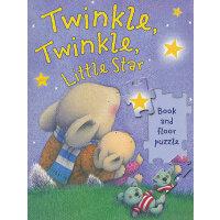 Twinkle Twinkle Little Star (Nursery Songs Book & Floor Puz