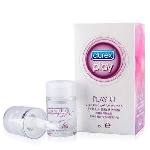 Durex杜蕾斯 PlayO女性快感增强液15ml 润滑液润滑油润滑剂成人情趣性用品计生用品