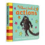 牛津女巫温妮 纸板书 英文原版早教启蒙Wilbur's Book of Actions 行动
