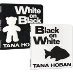 吴敏兰书单第2本 Black on white white on black 黑与白的艺术 2册绘本纸板书套装