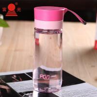 太空杯 透明创意带盖过滤塑料水杯子 学生简约男女情侣泡茶杯抖音