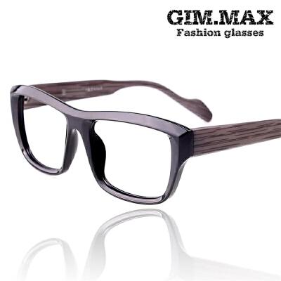 男女款复古平光镜黑框眼镜框 近视眼镜架