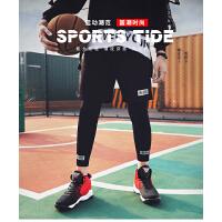 乔丹格兰篮球鞋休闲鞋子网面男鞋正品高帮青少年球鞋秋冬季运动鞋