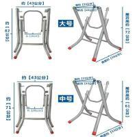 轻便简约折叠桌腿支架四方高脚家具做旧家具空间长条台面脚桌