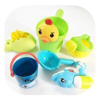 儿童婴儿玩具宝宝洗澡戏水玩具小黄鸭鸭子洗头杯花洒儿童洗澡戏水套装