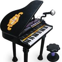 儿童玩具 儿童电子琴益智启蒙玩具自带琴谱麦克风早教钢琴玩具